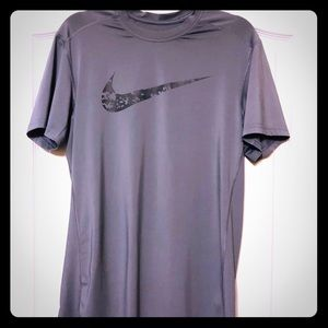 Nike Dri-Fit fitted athletic tee shirt